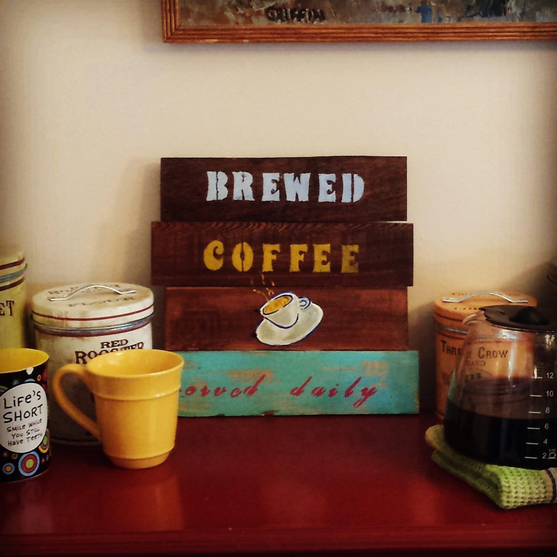 Brewed Coffee By Jgriffinscraftbarn On Etsy