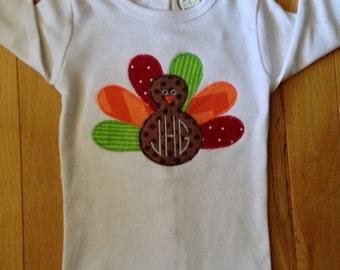 Boys turkey shirt
