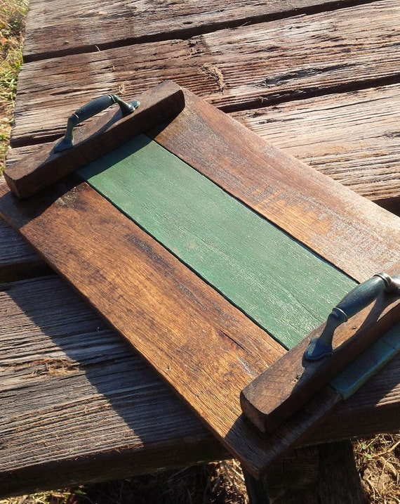Pallet Wood Serving Tray Wooden Breakfast Tray By