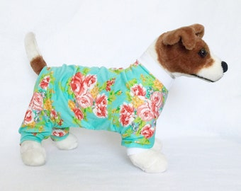 Layla's Dog Pajamas - Handmade Dog Clothes, Dog Clothing, Dog Apparel