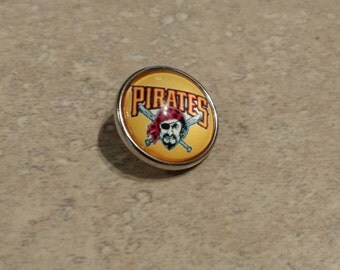 Pittsburgh Pirates Snap Button