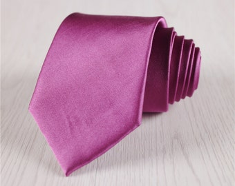 red silk neckties.vintage silk necktie.mens luxury ties with gift box.silk neck ties for wedding.groomsmen tie.handmade silk ties+nt145