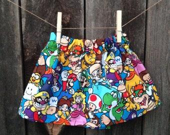 Nintendo, Super Mario Bros. Luigi, Peach, Donkey Kong Skirt
