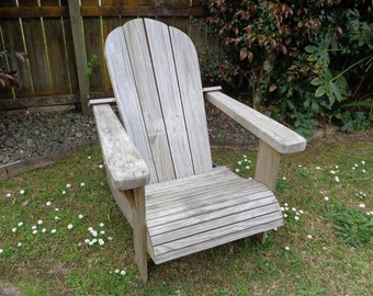 DIY Adirondack chair - woodworking plans