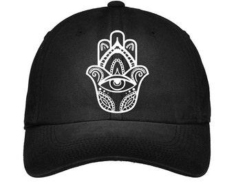 Hamsa Embroidered Tumblr Hat