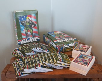 Unopened Box of G.I. Joe Trading Cards, 23 Unopened Packs and More...