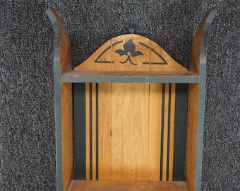 Vintage Wooden Wall Shelf