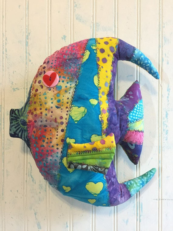 Fish shaped throw pillows angel fish af010 14x for Fish shaped pillow