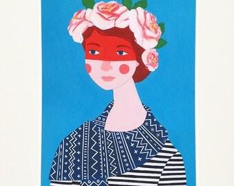 Anya - Print of a Painting