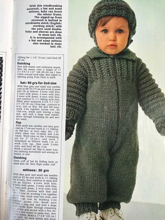 Mon tricot knit crochet magazine for babies babies from 3 24 812 shipping fandeluxe Image collections