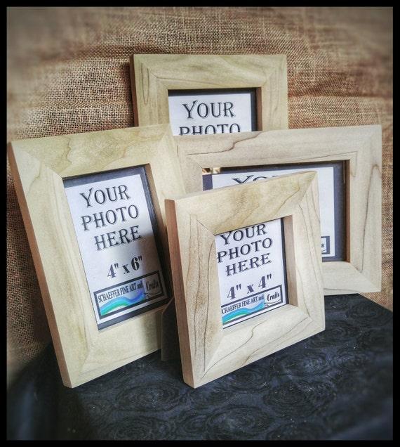 Poplar wood frames no hardware or glass wood for frames for Unfinished wood frames for crafts