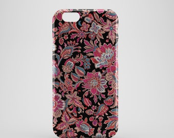 Abstract Floral Phone case,  iPhone X Case, iPhone 8 case,  iPhone 6s,  iPhone 7 Plus, IPhone SE, Galaxy S8 case, Phone cover, SS133d3