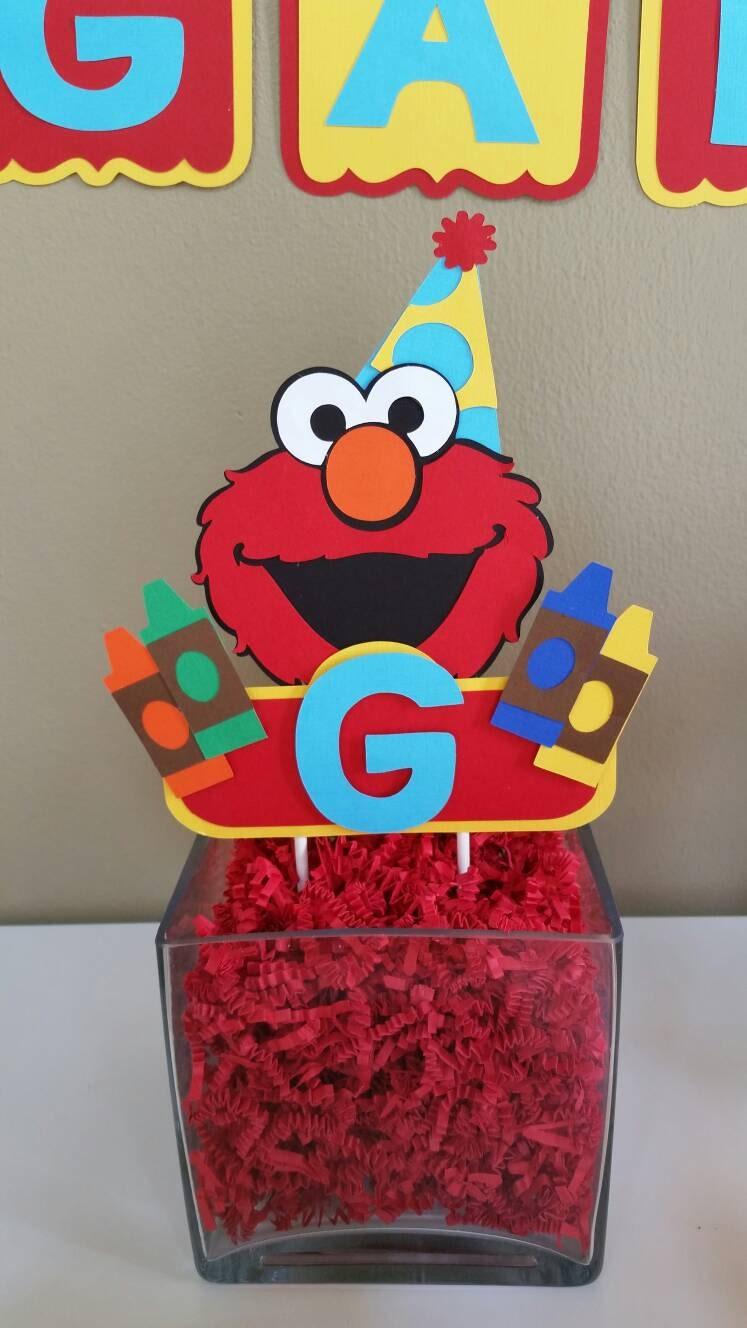 Elmo Cake Decorations : Elmo Cake Topper Elmo Cake Decor Elmo Cake Smash Elmo