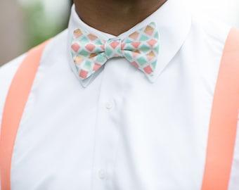 coral mint bow tie mint gold bow tie seafoam coral seafoam bow tie