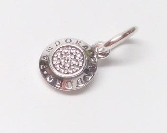 NEW Authentic Pandora 925 ale Signature Charm Dangle 390359CZ