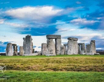 Stonehenge, England, United Kingdom, Travel, Europe, Fine Art Photography Print