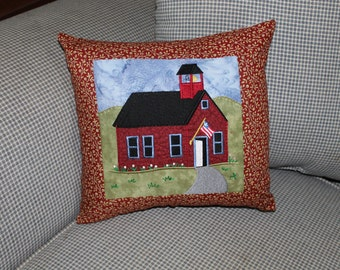 School House Pillow