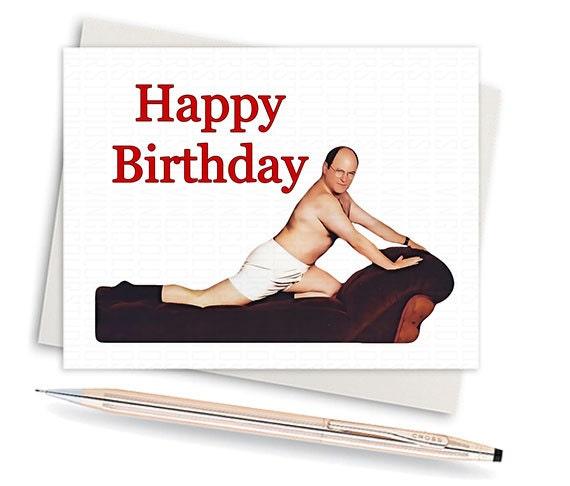 Sexy birthday card – Burt Reynolds Birthday Card