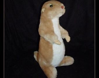 Prairie Dog Plush Stuffed Animal 1990s