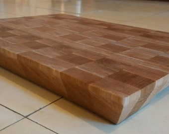 grain end  cutting board / butcher block
