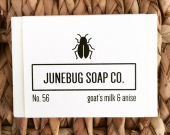 Goat Milk & Anise Bar Soap - Natural Soap, Goat Milk Soap, Handmade Soap, Bar Soap, Anise Soap, Homemade Soap, Mens Soap