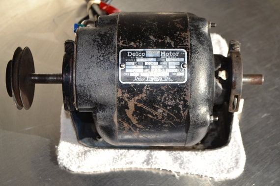 ac delco thermotron electric motor a5156 dual by