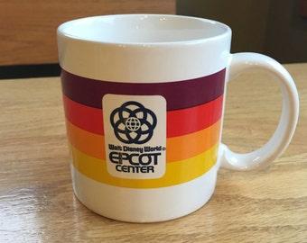 Vintage Epcot Center Mug