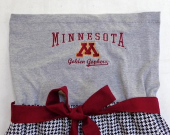 University of Minnesota Game Day Dress/ Tailgate Dress