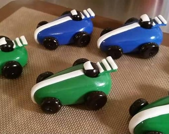 Race Car Cake Toppers, Cars birthday party, fondant race car cake topper, Movie Cars party, cars birthday invitation,fondant race car