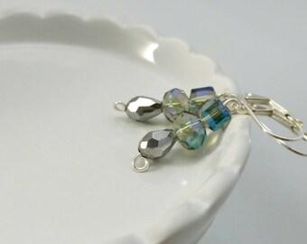 Czech Beaded Earrings~Handmade Earrings~Dangle Earrings~Ladies Earrings~Handmade Jewelry~Custom Jewelry~Beaded Earrings~