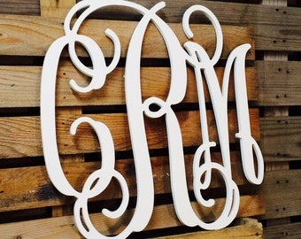 "Dorm Decor | Monogram 26"" 28"" available 