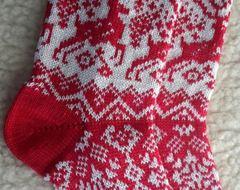 womens knitted wool socks