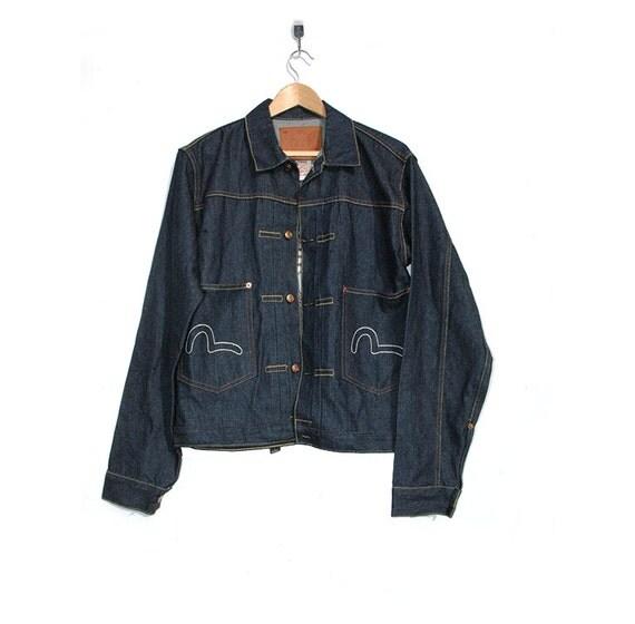 Evisu denim jacket