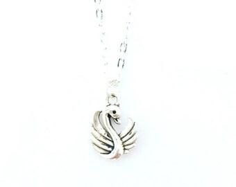 Swan choker necklace