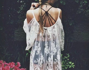 Boho Gyspy Camisole Crossed Back Halter Spaghetti Strap Summer Crop top