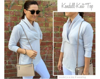 Kendall Knit Top PDF Sewing Pattern // Sizes 4, 6, 8 // Digital PDF sewing pattern by Style Arc