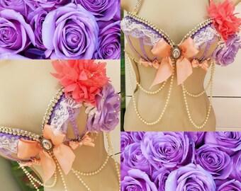 Purple Fairy Bra