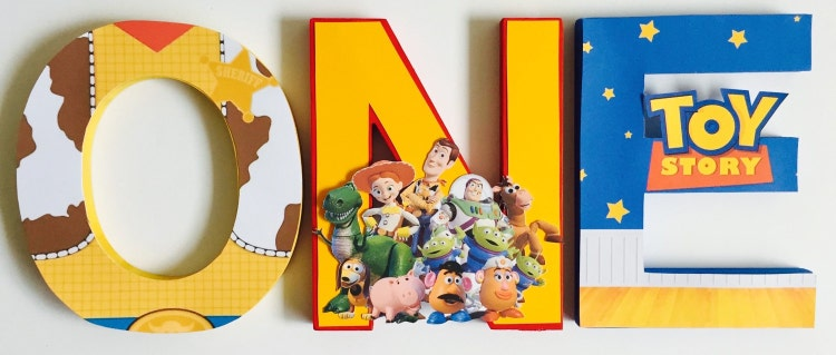 Toys For A 1st Birthday : Toy story first birthday letters by shopliamsloane on etsy
