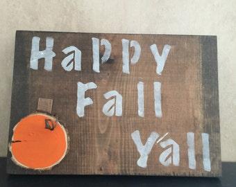 Rustic Fall Decor Sign
