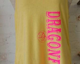 Racerback, Tank Tops, Dragonfly Dreams, Branded, Summertime Sale