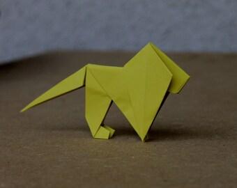 Lion - Origami