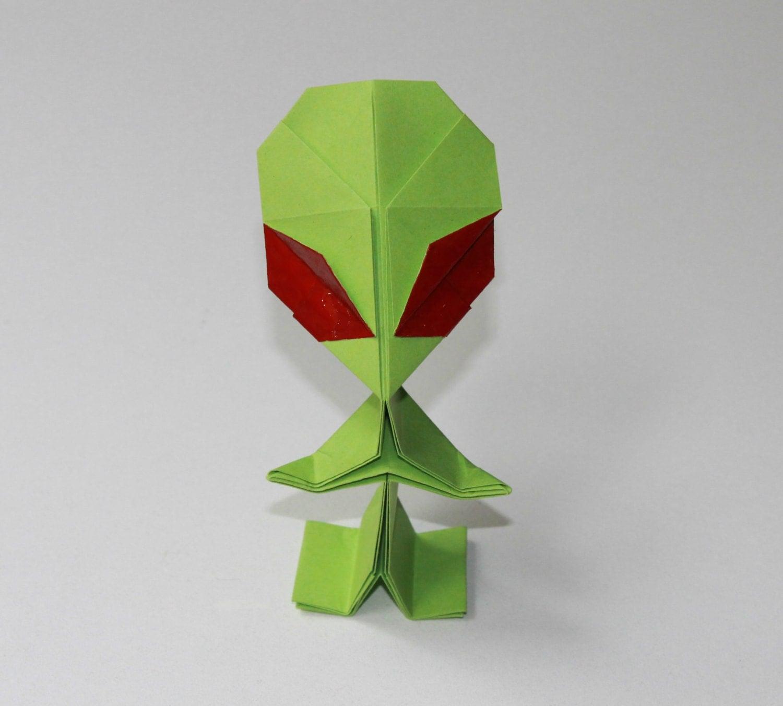 alien origami