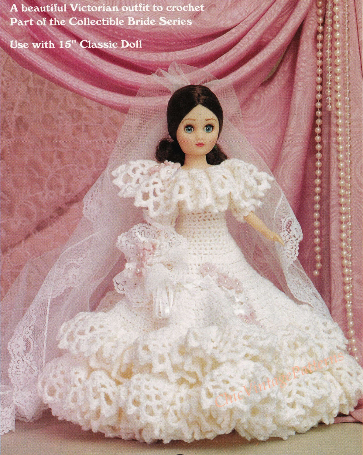crochet doll wedding dress pattern | Wedding