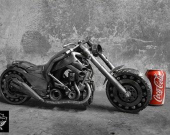 Moto - spedizione in tutto il mondo gratuita da metallo arte 45 cm 7,5 kg