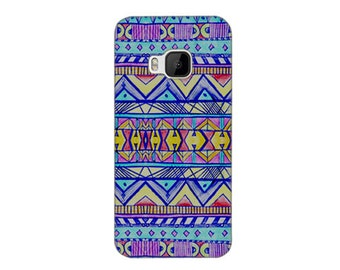HTC One M9 Case #Neon Lights Hard Case Phone Cover