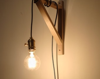 Handmade Copper Plug In Pendant Light E27/E26  - UK Plug