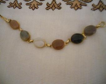 Vintage Protective Bohemian Agate Bracelet.Women's  Bracelet.Girl's Bracelet. Multicolored Bracelet.