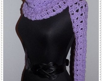 Crochet PATTERN, crochet shrug pattern, crochet scarf pattern, crochet bolero pattern, women crochet pattern, Instant DOWNLOAD Pattern