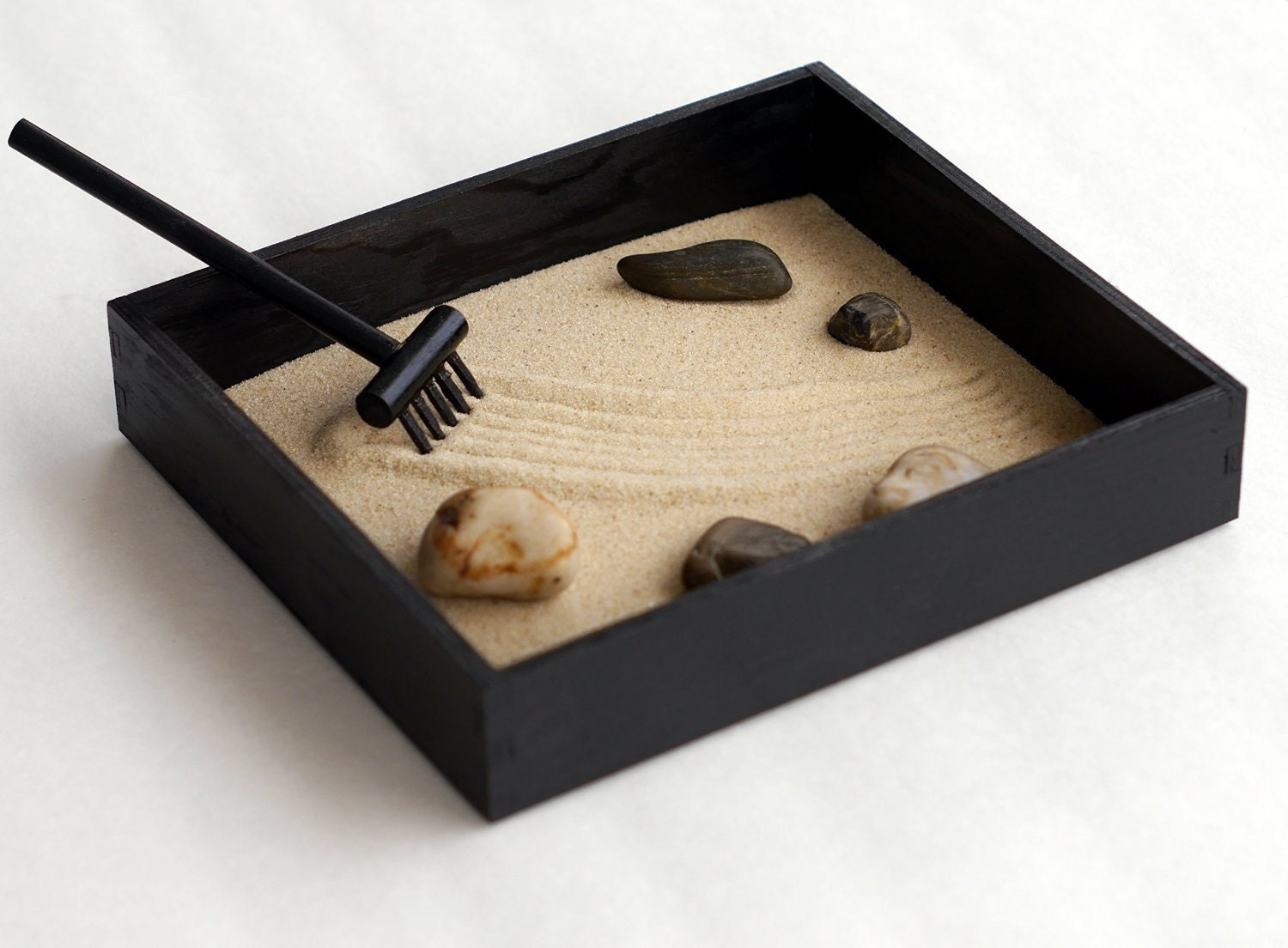 how to build a zen garden box