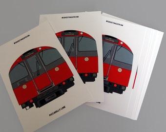 London Underground Postcard